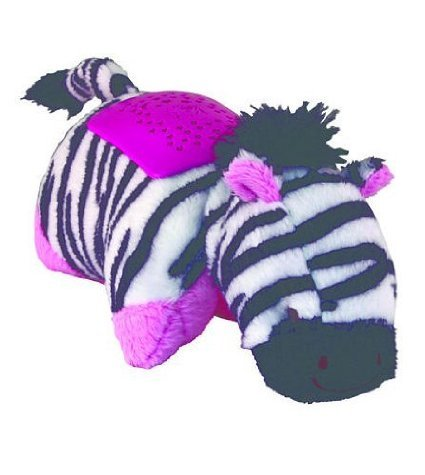 Pillow Pets Dream Lites Mini - Zippity Zebra - 1