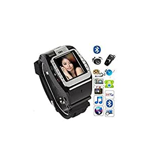 Amazon.com: Wrist Watch Phone Unlocked Touch Bluetooth GSM ...