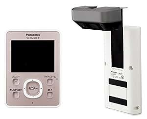 Panasonic ワイヤレスドアモニター ドアモニ ピンクゴールド   ワイヤレスドアカメラ+モニター親機 各1台セット VL-SDM300-P