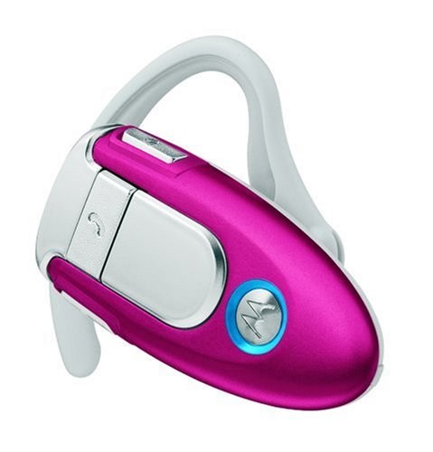 Motorola H500 Bluetooth Wireless Headset (Magenta) [Retail Packaging]