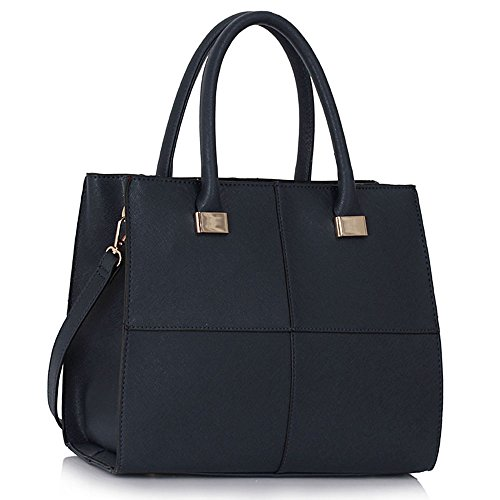 Ladies Faux Leather Quality Handbag Women's Fashion Designer Tote Bag Celebrity Style Quality Bags CWS00153