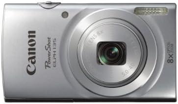 Canon PowerShot ELPH135 Digital Camera (Silver)