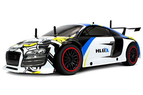 Velocity Toys Reaper Racer Exotic Supercar Remote Control RC Car 2.4 GHz Control System, High Speed 15+ MPH, High Performance Lithium Battery, Big Size 1:10 Scale RTR (Colors May Vary) (Mustang Battery Car compare prices)