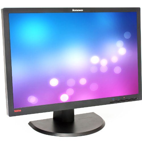 "Ibm Thinkvision L2440P Black 24"" Widescreen Screen 1920 X 1200 Resolution Refurbished Lcd Flat Panel Monitor"