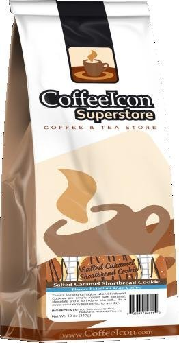Salted Caramel Shortbread flavored coffee