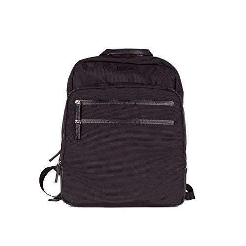 Tutilo Mens Work and Travel Backback Bag w Padded Laptop Sleeve
