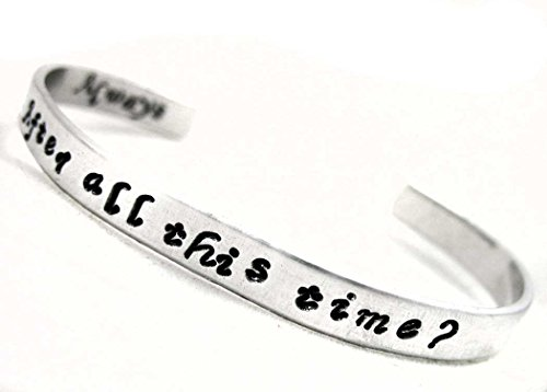 Harry Potter Inspired, After All This Time? Always - Hand Stamped Aluminum Bracelet