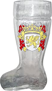 Glass Das Boot Beer Mug 1 Liter As Seen in Beerfest by TV Store