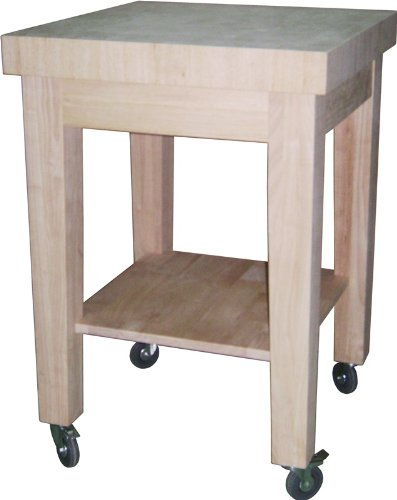 Cheap International Concepts Kitchen Island – Natural Finish (WC-2424)