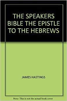 Epistle to the hebrews book buy