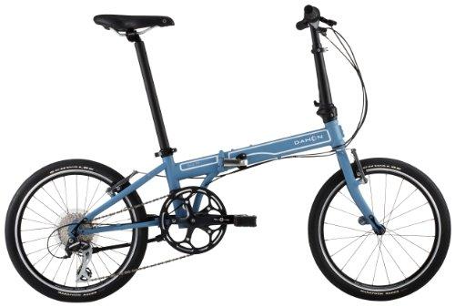 "DAHON(ダホン) Speed P8 20"" クロモリフレーム 折りたたみ自転車 8speed Matte Indie 13SPP800BL"