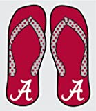 Alabama Crimson Tide FLIP FLOPS Vinyl Decal Car Truck Sticker UA at Amazon.com