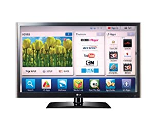 LG 37LV550T 37-inch Widescreen Full HD 1080p 100Hz LED Smart Internet TV with Freeview HD