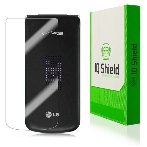 Iq Shield Liquidskin - Lg Exalt Screen Protector With Lifetime Replacement Warranty - High Definition (Hd) Ultra Clear Phone Smart Film - Premium Protective Screen Guard - Extremely Smooth / Self-Healing / Bubble-Free Shield - Kit Comes In Frustration-Fre