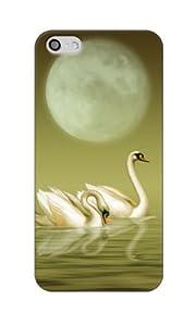 Apple / SoftBank / au iPhone5 対応 携帯ケース 1911白鳥の湖