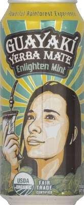 Guayaki - Yerba Mate Enlighten Mint - 16 oz. (Guayaki Energy Drinks compare prices)