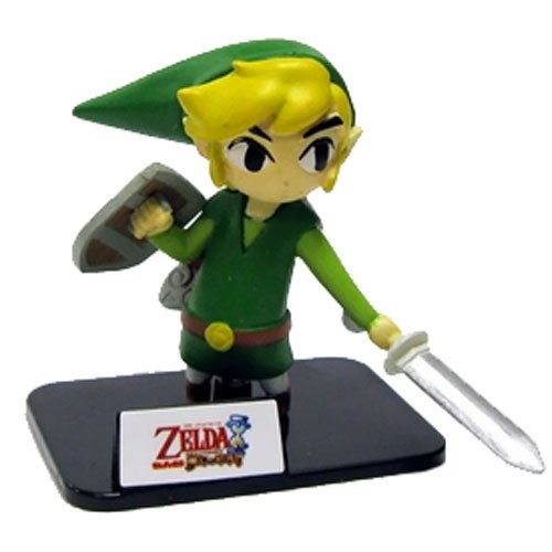 "Link from Phantom Hourglass ~1.7"" The Legend of Zelda Mini-Figure Collection [6] - 1"