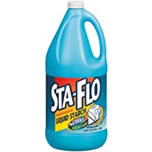 Dial 1592400 Sta-Flo Concentrated Liquid Starch, 64 oz Bottle (Pack of 6)