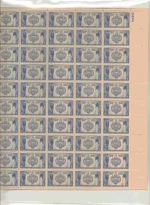 U.S. Naval Academy Sheet of 50 x 5 Cent US Postage Stamps NEW Scot 794