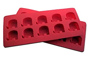 "NicecubeZ ""Republican Party"" 'Elephant' Silicon Ice Cube Trays and Baking Molds Made from Flexible and Eco-Friendly, Food-Grade Silicone, at Sears.com"