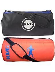 KVG Combo Gym Bag Pack Of 2 - B01LNV1A2G