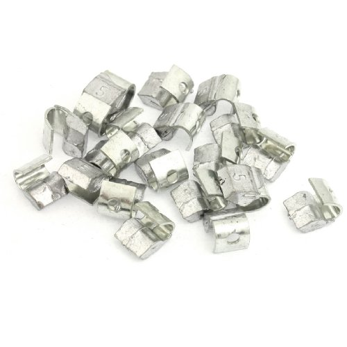 Motorcycle Car Clip Tyre Tire Wheel Balancing Weights 5 Gram 20 Pcs image