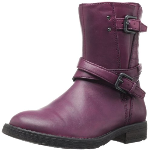 Geox Girls' J Sofia P Boots Red Rouge (Dk Raspberry) 29