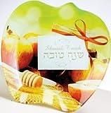 Glass Rosh Hashanah Apple Dish