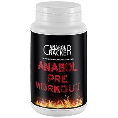 Anabol Pre-Workout Formular, 300g Dose, Beta Alanin, Arginin Alpha Ketoglutarat, Taurin Pulver