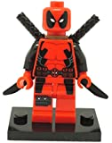 Deadpool 2 Inch Minifigure (Red Suit)