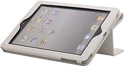 iAccy White Hard Folio Case for The New iPad & iPad 2