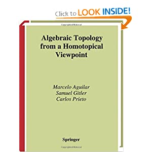 [Algebraic Topology] Best book(s) to learn from : learnmath