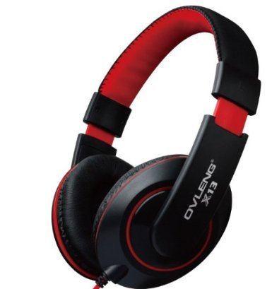 Dragon ® X13 3.5Mm Professional Hifi Studio Stereo Cellphone Headphones Headset W/Microphone ,Bass Omnidirectional Stereo Sound, 2.0 Speaker