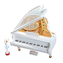 Classical Ballerina Girl on the Piano Music Box