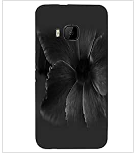 PrintDhaba Flower D-2306 Back Case Cover for HTC ONE M9 (Multi-Coloured)