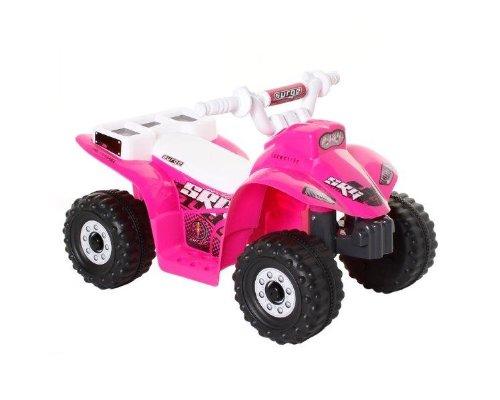 Dynacraft Surge 6V Quad Ride On, Pink/White/Black