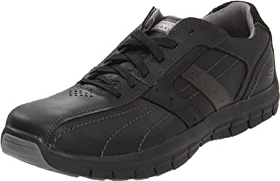 Skechers Men's mazen kruger Oxford,Black,7.5 M US