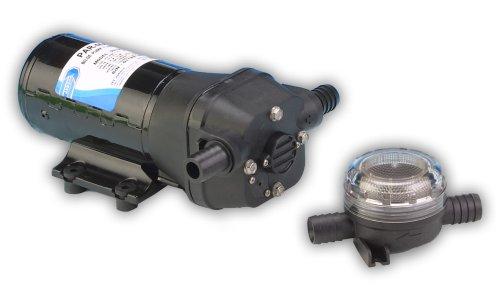 "Jabsco 31705-0092 Marine ParMax 4 Bilge Pump (258-GPH, 12-Volt, 10-Amp, 3/4"")"