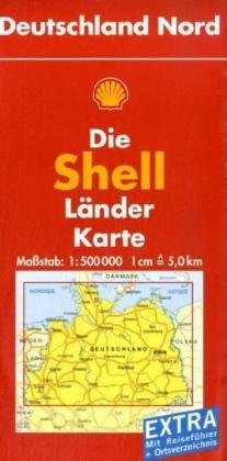 Deutschland Nord. 1 : 500 000: Mit Ortsverzeichnis