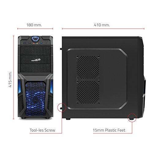 IPERprice - Prodotto del Giorno 03 Agosto 2015: Sentey Gs-6008 Stealth Gaming Computer Case - Foto 3