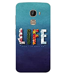 ColourCraft Quote Design Back Case Cover for LeEco Le 2