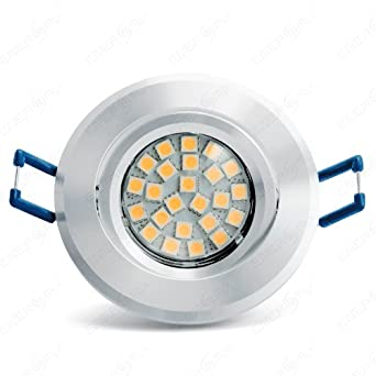 12Volt Decken Leuchte Lenard MR16 SMD LED 3 Watt = 25 Watt IP20