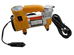 HARPOW 30mmTyre Tire Inflator Piston Air Compressor with light Air Gauge