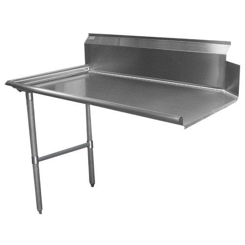 Tarrison CDTL Heavy Duty Gauge Stainless Steel Clean Left Dish - 16 gauge stainless steel table