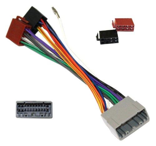 Aerzetix-E1-Cavo adattatore Radio ISO con adattatore Radio a norma ISO, Cavo per CHRYSLER JEEP