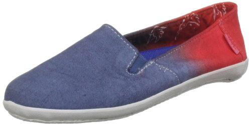 Vans Women's Bixie Ensign Blue Doves Trainer VOY67LA 4 UK