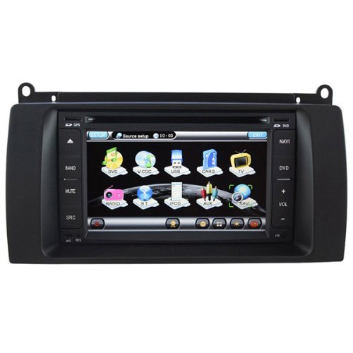 Koolertron For MG MG7  &  Rover 75 In-dash DVD GPS Sat Nav Navigation Player With 6.2