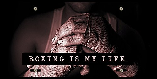 Boxing Is My Life Dirty Hands Boxer Fighter Car Tag License Plate Frame (Dirty License Plate Frame compare prices)