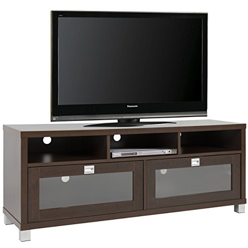 Best choice products tv stand storage home entertainment furniture home theater media center Home theater furniture amazon