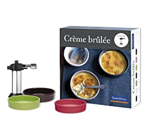 Emile Henry - 659811 - Set of 6 Crmes Brles and Blowtorch - Fig ...
